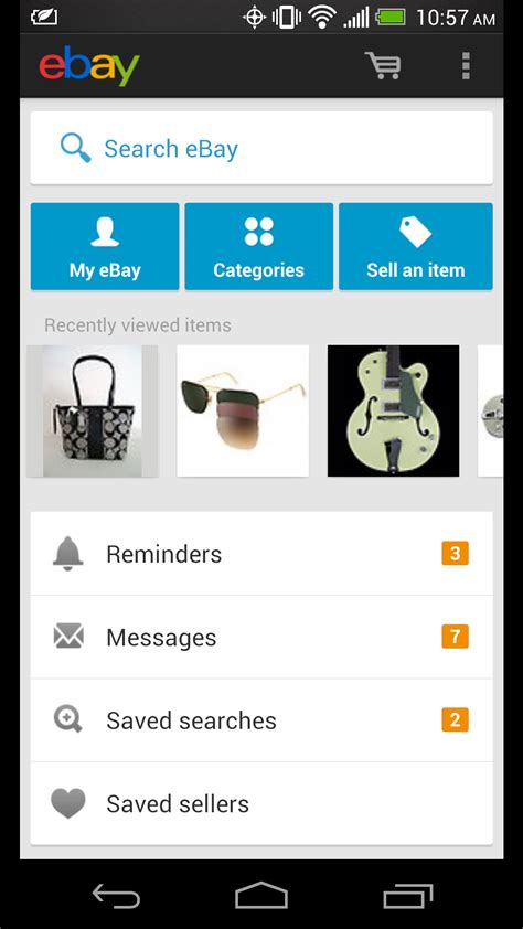 ebay android app best indian shopping ticketing apps for android features links android advices