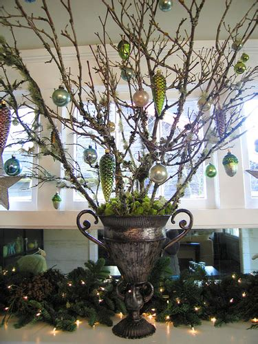 tree branch decor home design christmas decorations flowering diy christmas urn fillers on pinterest christmas urns
