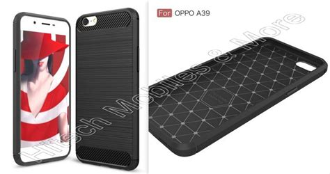 carbon fiber texture tpu phone for oppo a39
