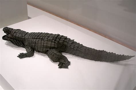 Origami Alligator - 904167447 9c17be8720 z jpg zz 1