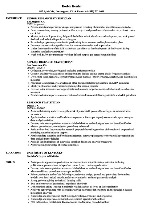 cover letter statistician statistician resume web project manager cover letter