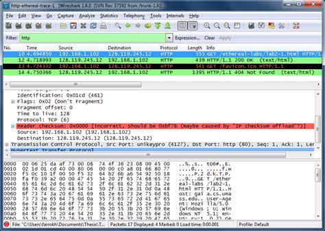 wireshark tutorial network lab wireshark lab http