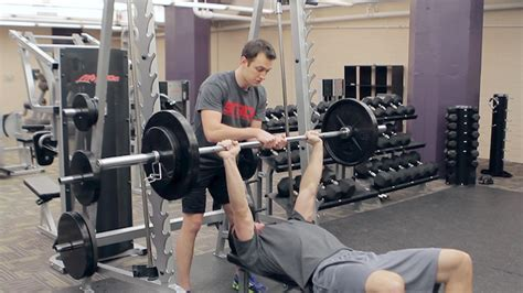 how to spot a bench press how to provide a spot for the bench press stack