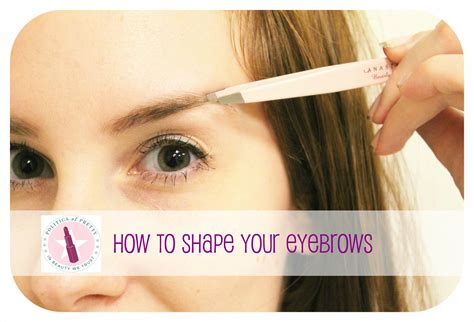how to my at home eyebrows archives politics of pretty