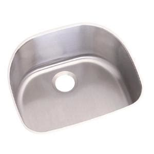 elkay dayton undermount stainless steel 24 in single