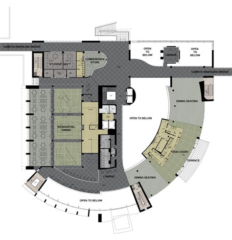 student center floor plan gallery of cleveland state university student center