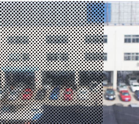 dot pattern on windshield black dot pattern decorative window glass film view glass