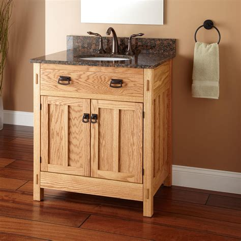 30 quot mission hardwood vanity for undermount sink bathroom