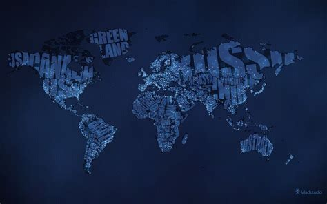 typography world map typographic world map hd wallpaper theme bin