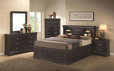 king bed black coaster 201079ke black eastern king size wood bed steal