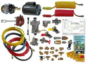 Air Brake System On Tractor Trailer Erentek Conversion Kits For Agricultural Commercial And