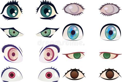 clipart occhi occhi anime di illustrazione di stock immagine