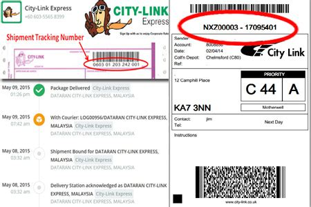 blibli express service tracking city link tracking online citylink courier track trace