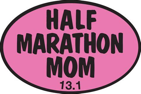 Half Marathon Stickers half marathon pink sticker