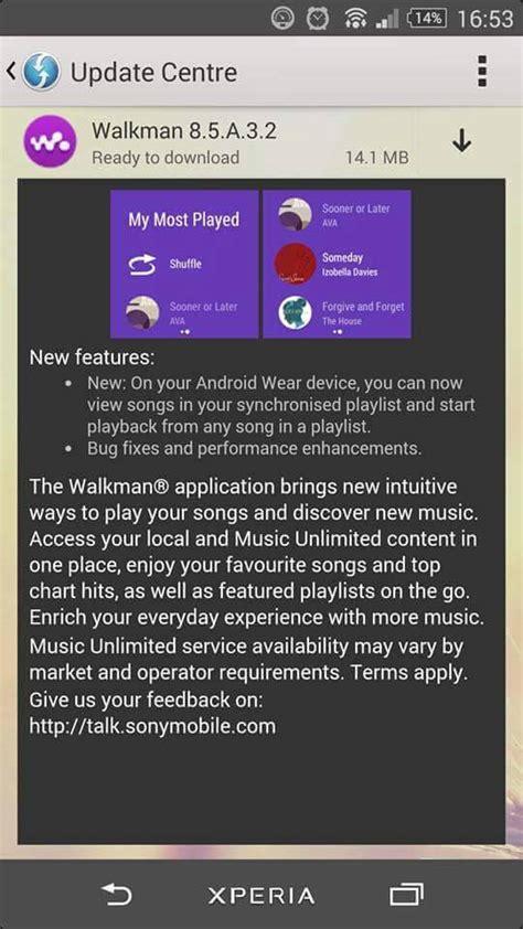 theme walkman apk sony walkman 8 5 a 3 2 update rolling view songs on your