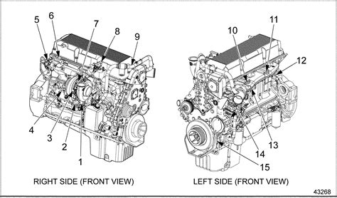 diesel engine diagram detroit dd15 engine component diagram detroit diesel