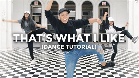 tutorial dance that s what i like that s what i like bruno mars dance tutorial