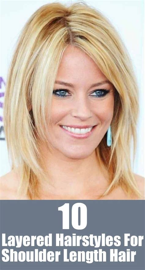 easiest to care for layered short hairstyles 20 great shoulder length layered hairstyles shoulder