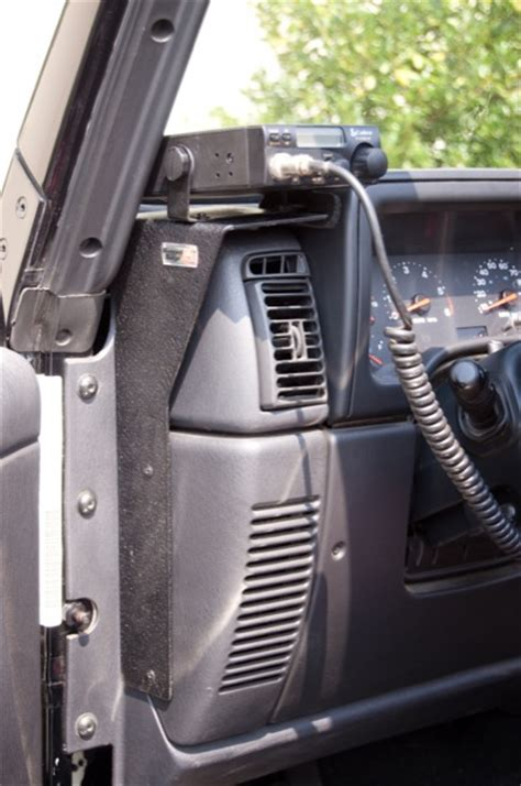 rugged outfitters locations rugged ridge cb radio dash mount jeep wrangler tj 97 06 13551 09 jeepinoutfitters