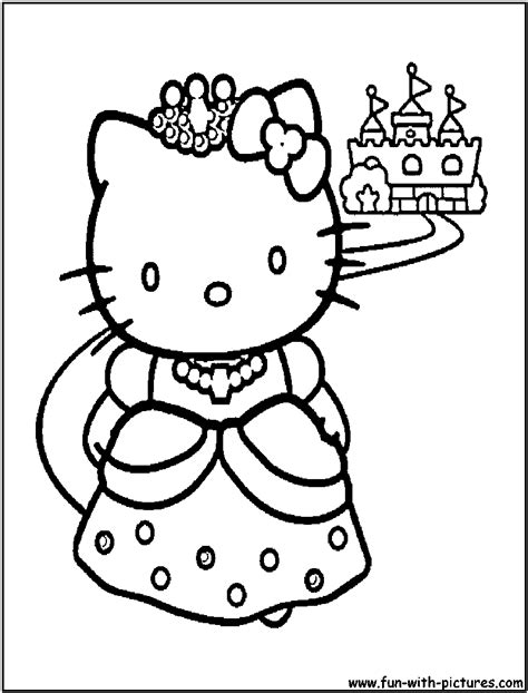 Hello Princess Coloring Page free hello princess coloring pages