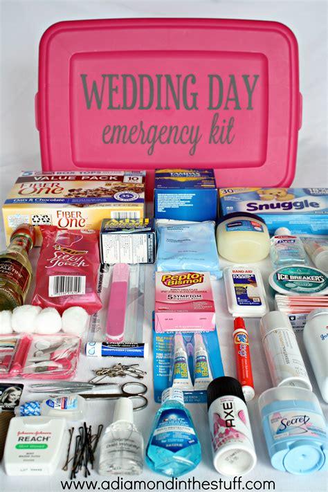 Wedding Emergency Kit wedding day emergency kit