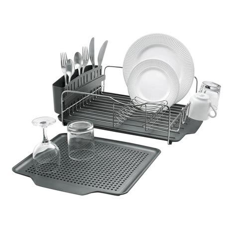 Polder Dish Rack by Polder 4 Advantage Dish Rack Kth 615rm The Home Depot