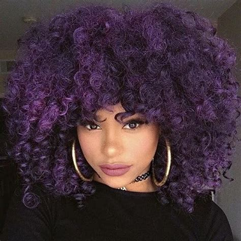 bold hair color for curly hair hergivenhair