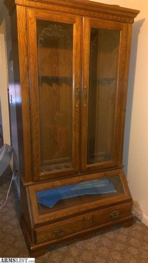 armslist for sale antique gun cabinet