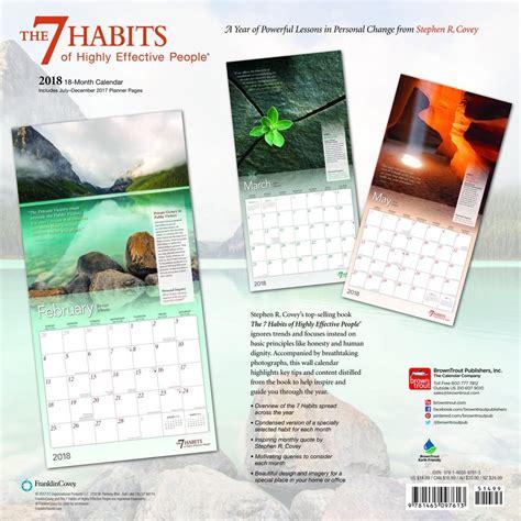 7 Habits Calendar