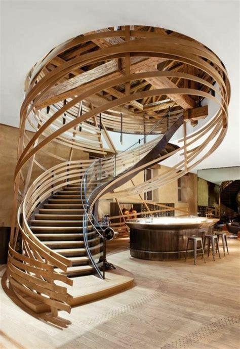 Délicieux fabriquer escalier bois exterieur #1: 1-le-plus-beau-design-d-escalier-en-bois-massif-comment-fabriquer-un-escalier-en-bois.jpg