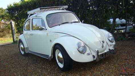volkswagen bug white 1971 vw beetle 1200 pastel white 1300cc