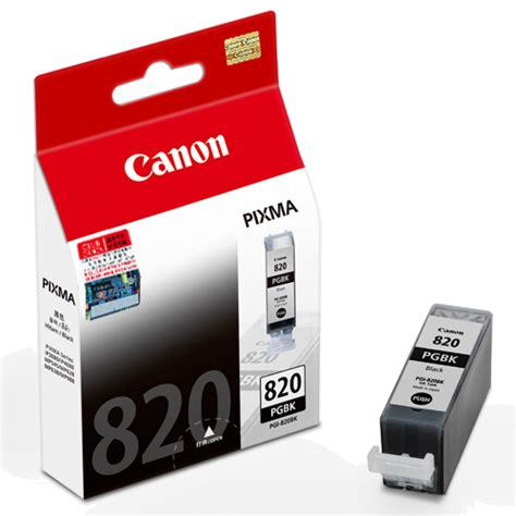 Dijamin Canon Cartridge 830 Black pgi 820 pgbk ink tank canon hongkong company limited