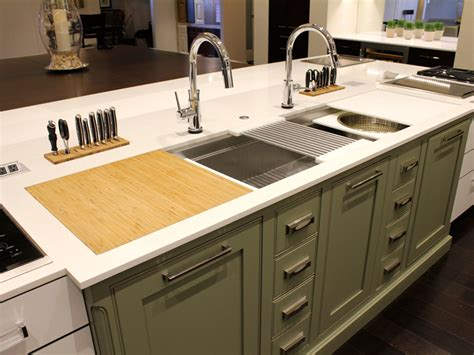 Kitchen Sinks Okc Kitchen Sinks Okc This Galley Workstation Kitchen Was Done By Tulsa Oklahoma Based Rambo Co