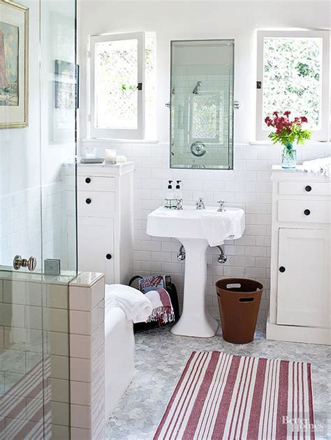 how small can a bathroom be make a small bath look larger