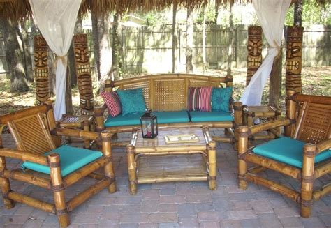 bamboo patio furniture custom built tiki huts tiki bars nationwide delivery