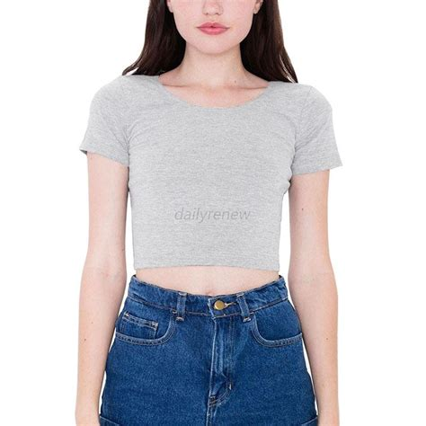 Blouse Belly sleeve cropped top t shirt belly tops blouses