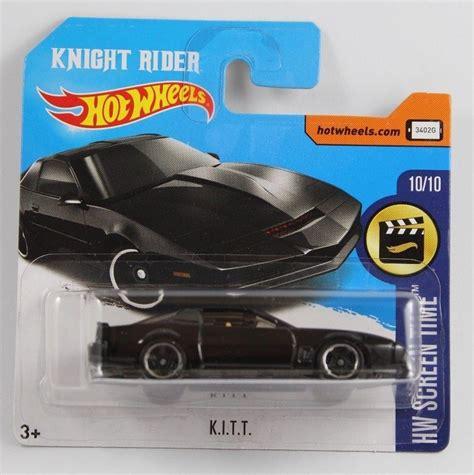 Hotwheels Rider Kitt Diecast Hw Wheels Rider Kitt Card 2017 Collectable