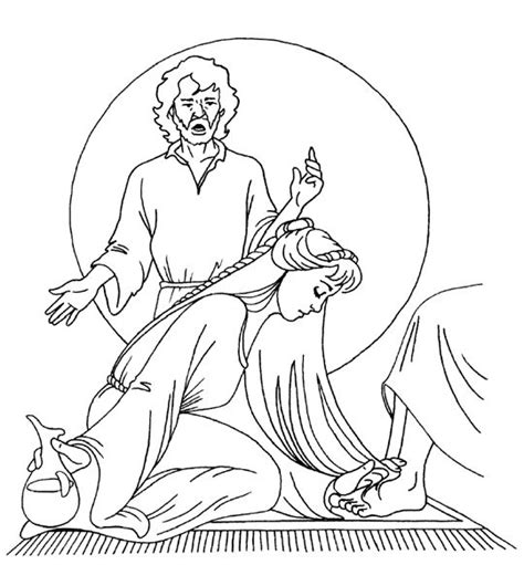 Luke 7 Coloring Page by 1000 Images About Bible Story Anoints Jesus On