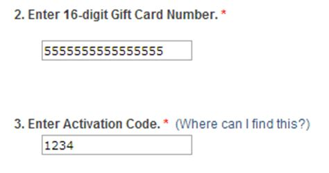 Gift Card Activator - how to activate register visa gift cards purchased at staples