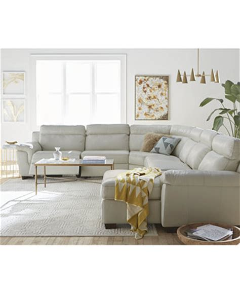 macys living room julius leather power motion sectional living room furniture collection furniture macy s