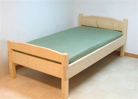 how to make a twin bed building a bed