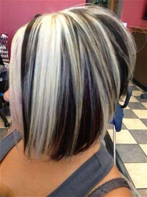 short hairstyles with chunky color foils 25 best ideas about chunky highlights on pinterest