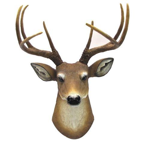 deer head home decor antler 8 point buck deer head bust wall hanging figurine