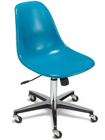 Roller Chair by Study Side Shell Rolling Chair Modernica Study