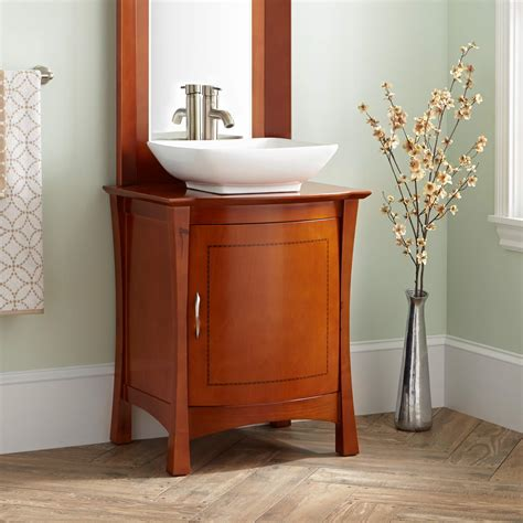 24 bathroom vanity with vessel sink signature hardware 24 quot frisco vessel sink vanity with