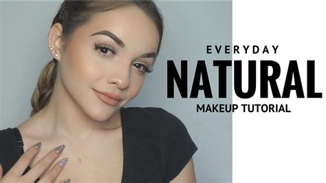 tutorial make up natural sehari2 everyday natural makeup tutorial 2017 youtube