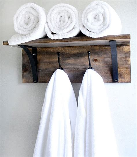 towel rack ideas for bathroom 15 simple and inexpensive diy towel holder ideas top