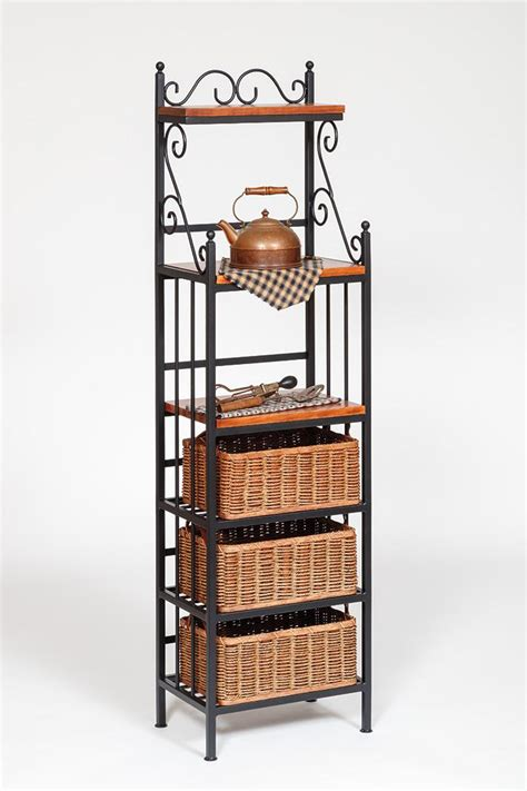Small Bakers Rack by Morris Hill Metal Craft All American Wholesalers