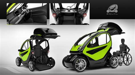 wheelchair smart car equal wheelchair accessible car conceptuniversal design