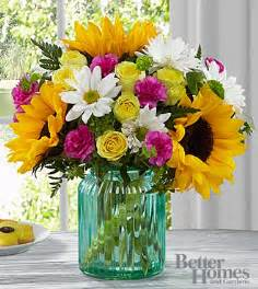 Better Homes And Gardens Flowers Ftd Sunlit Bouquet By Better Homes And Gardens Deluxe Birthday Flowers Flowers Fast
